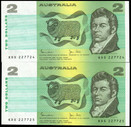 Australia - 1983 - $2 Pair - KDS227724-725 - MC130 - Uncirculated