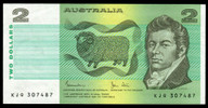 Australia - 1983 - $2 - KJQ307487 - MC130 - Uncirculated