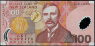New Zealand - 1999 - $100 Polymer - Brash - BG99 959395 - Uncirculated