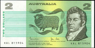 Australia - 1983 - $2 - KAL815904 - MC130 - Good Extremely Fine