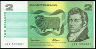 Australia - 1985 - $2 - LDX593801 - MC131 - Uncirculated