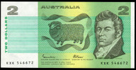 Australia - 1985 - $2 - KXK546672 - MC131 - Uncirculated