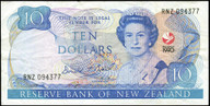 New Zealand - 1990 - $10 Commemorative Note - RNZ094377 - Extremely Fine