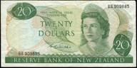 New Zealand - $20 - Wilks -  BB909885 - Fine