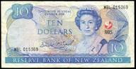 New Zealand - 1990 - $10 Commemorative Note - MBL015369 - Fine