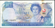 New Zealand - 1990 - $10 Commemorative Note - MBL096423 - Good Very Fine