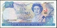 New Zealand - 1990 - $10 Commemorative Note - CWB031896 - Good Very Fine