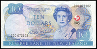 New Zealand - 1990 - $10 Commemorative Note - CCC072102 - Extremely Fine