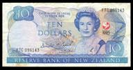 New Zealand - 1990 - $10 Commemorative Note - FTC096143 - Fine