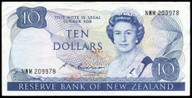 New Zealand - $10 Note - Russell - NWM209978 - Very Fine