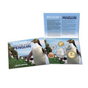 New Zealand - 2011 - Annual Uncirculated Coin Set - Yellow Eyed Pengiun