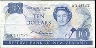 New Zealand - $10 Note - Russell - NTL757173 - Very Fine