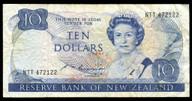 New Zealand - $10 Note - Russell - NTT472122 - Fine