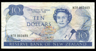 New Zealand - $10 Note - Russell - NTR860489 - Very Fine