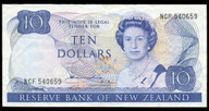 New Zealand - $10 Note - Hardie - Type 2 - NCF540659 - Very Fine