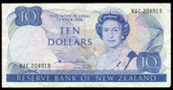 New Zealand - $10 Note - Hardie - Type 2 - NAC204919 - Very Fine