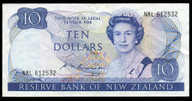 New Zealand - $10 Note - Russell - NKL612532 - Very Fine