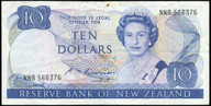 New Zealand - $10 Note - Russell - NNB566376 - Fine