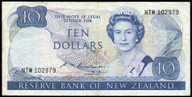 New Zealand - $10 Note - Russell - NTM102979 - Fine