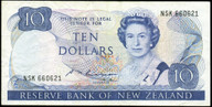 New Zealand - $10 Note - Russell - NSK660621 - Very Fine
