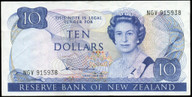 New Zealand - $10 Note - Hardie - Type 2 - NGV915938 - Very Fine