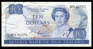 New Zealand - $10 Note - Russell - NPX312371 - Fine
