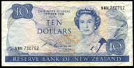 New Zealand - $10 Note - Russell - NWN730752 - Fine