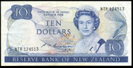 New Zealand - $10 Note - Russell -  NTR124513 - Good Very Fine