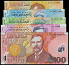 New Zealand - 1999 - Banknote Set - #454