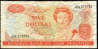 New Zealand - $5 - Russell - JGA079791 - Fine