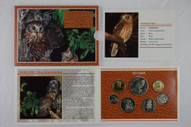 New Zealand - 1999 - Annual Uncirculated Coin Set - Morepork