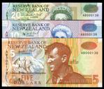 New Zealand - $5 $10 $20 - Brash - AB000138 - Matched Set - Uncirculated