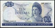 New Zealand - $10 - Knight - 24K 094019 - Good Extremely Fine