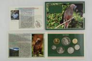 New Zealand - 1996 - Annual Uncirculated Coin Set - Kaka