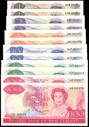 New Zealand - $1 To $100 - Russell Matched Sets 857 & 858 - Uncirculated