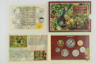 New Zealand - 1995 - Annual Uncirculated Coin Set - Tui