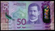 New Zealand - $50 - Orr - AA18973997 AA18973998 - First Prefix - Unc
