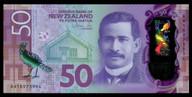 New Zealand - $50 - Orr - AA18973994 - First Prefix - Unc