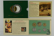 New Zealand - 1994 - Annual Uncirculated Coin Set - Endeavour
