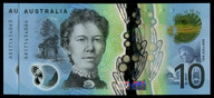 Australia - 2017 - $10 Consecutive Pair - AA17 1434063-64 - First Prefix - Unc