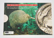 New Zealand - 1993 - Annual Uncirculated Coin Set - Kingfisher [Coin Fair Issue]