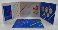 New Zealand - 1990 - Uncirculated Coin Set - 150th Anniversary