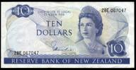 New Zealand - $10 - Hardie 'Type 1' - 28E 067047 - gVF