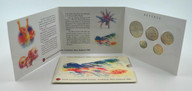 New Zealand - 1989 - Annual Uncirculated Coin Set - Commonwealth Games