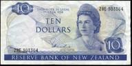 New Zealand - $10 - Hardie 'Type 1' - 28E 303364 - Fine