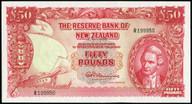 New Zealand - 50 Pounds - Fleming - R199950 - Unc