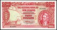 New Zealand - 50 Pounds - Fleming - R199951 - Unc
