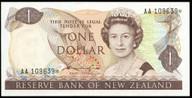New Zealand - $1 Star Note - Hadie 'Type 2' -  AA 109639* - Uncirculated