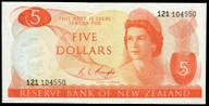 New Zealand - $5 - Knight - 121 104550 - Unc