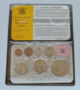 New Zealand - 1976 - Annual Uncirculated Coin Set - Coat Of Arms